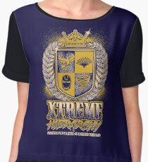 XTREME HIERARCHY COAT OF ARMS Chiffon Top