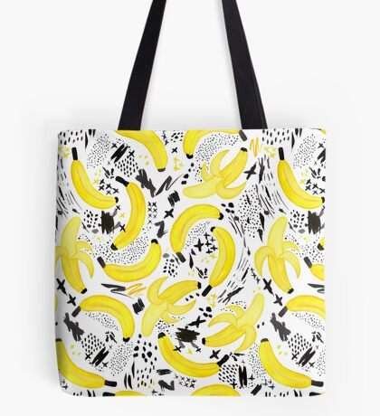 Unreal Banana Peel Tote Bag