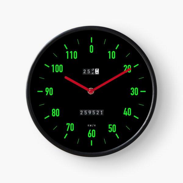 Retro car speedometer wall clock Clock