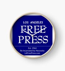 Los Angeles Free Press Clock Clock