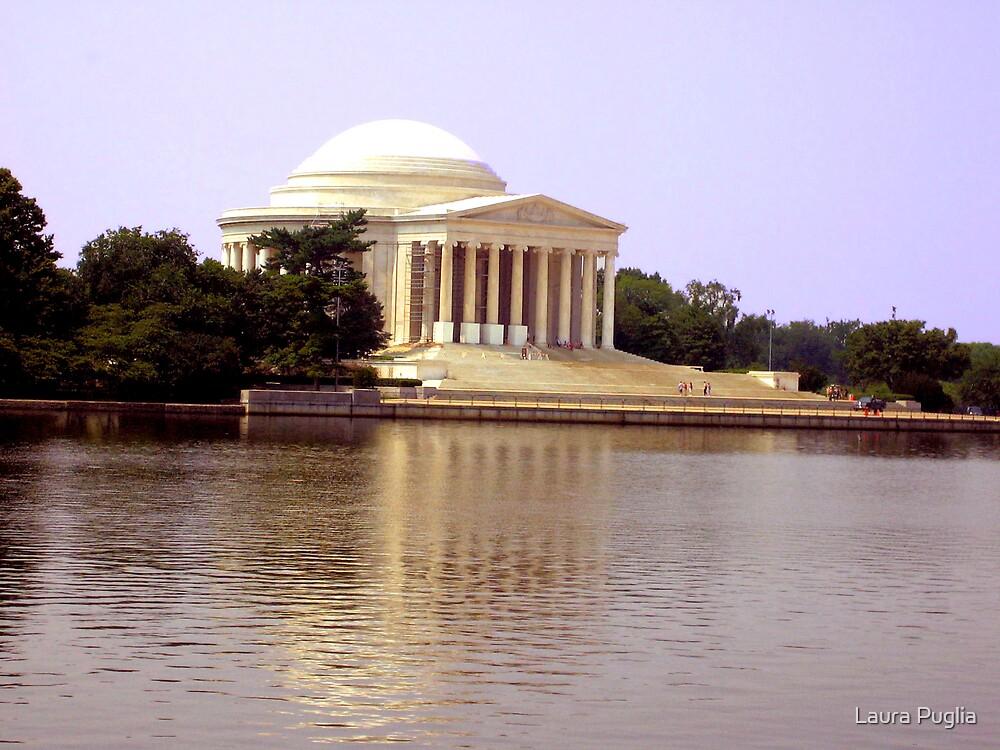 Thomas Jefferson Memorial by Laura Puglia