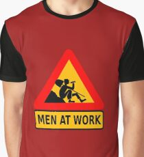 Men at work Graphic T-Shirt
