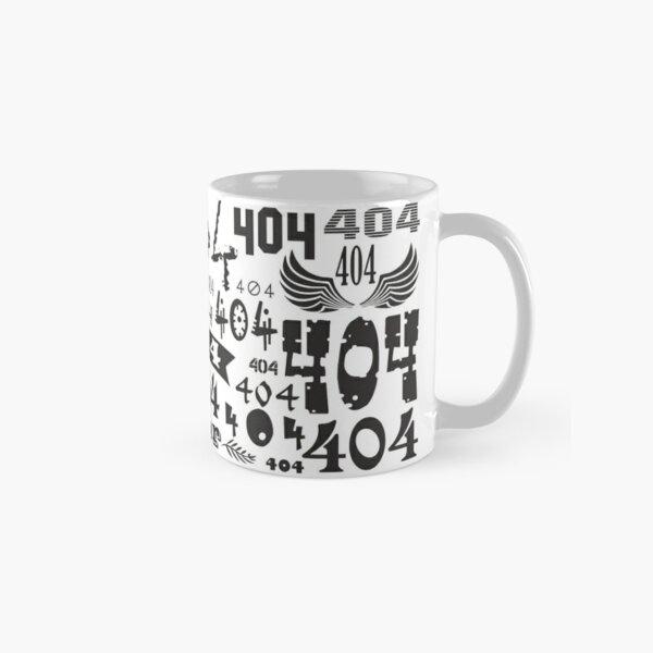 Error 404 - not found Classic Mug