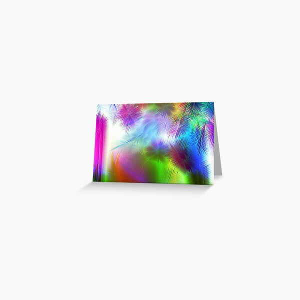 Crystal Clouds Greeting Card