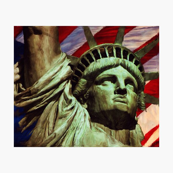 Love of Liberty by M.A Photographic Print
