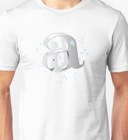 'A' whale T-Shirt