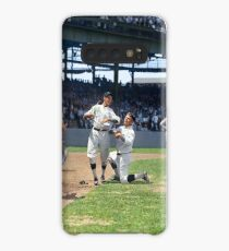 Al Schacht & Nick Altrock at MLB Opening game in Griffith Stadium in Washington D.C., 1924 Case/Skin for Samsung Galaxy
