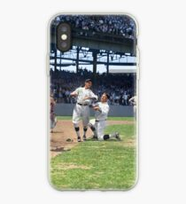 Al Schacht & Nick Altrock at MLB Opening game in Griffith Stadium in Washington D.C., 1924 iPhone Case