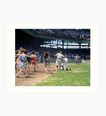 Al Schacht & Nick Altrock at MLB Opening game in Griffith Stadium in Washington D.C., 1924 Art Print