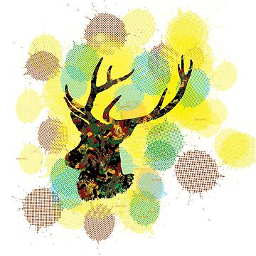 Deer, I'm Colourful by jmenszta