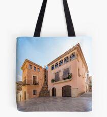 Spanish Town Tote Bag