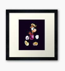 Back to 1995's Rayman! Framed Print
