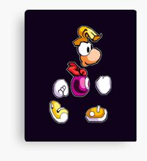 Back to 1995's Rayman! Canvas Print