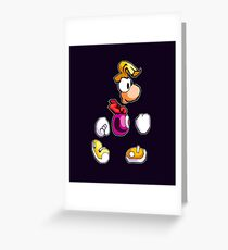 Back to 1995's Rayman! Greeting Card