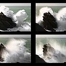 « Big wave exploding in Yeu Island » par Aurelien CURTET