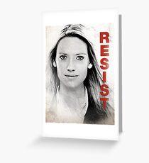 RESIST - Olivia Greeting Card