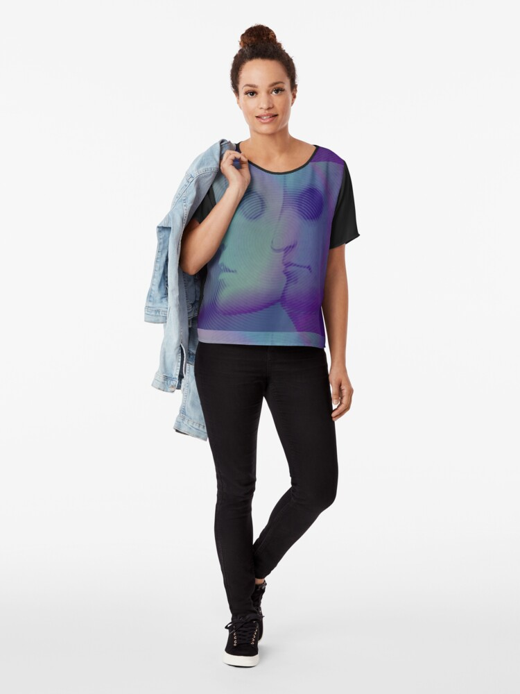 Alternate view of La Planete Sauvage -Fantastic Planet  Chiffon Top
