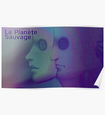 La Planete Sauvage -Fantastic Planet  Poster