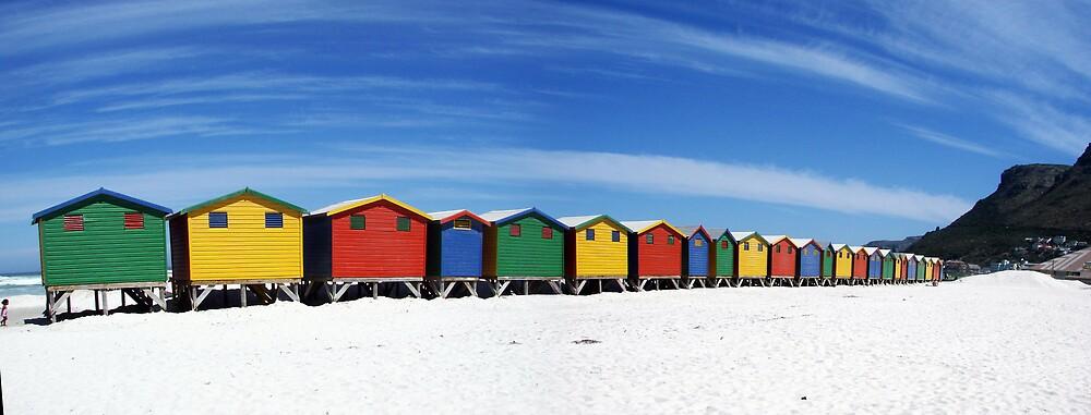 Beach Huts by jandersen