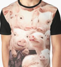 Pigs Graphic T-Shirt