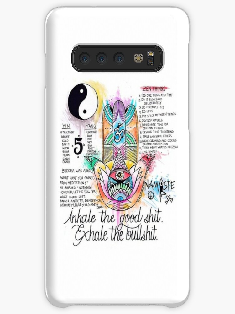 Zen Tumblr Style Quotes Cases Skins For Samsung Galaxy By