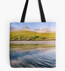 The Cuillin from Glenbrittle Beach Tote Bag