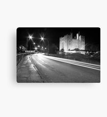 Bunratty Castle at night Canvas Print