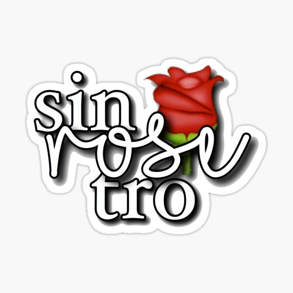 sin-rose-tro Sticker