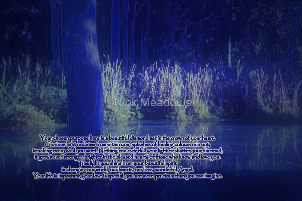 Blue Lake by Nick Meadows