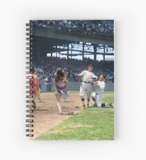 Al Schacht & Nick Altrock at MLB Opening game in Griffith Stadium in Washington D.C., 1924 Spiral Notebook