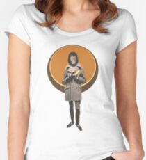 Planet Of The Apes Mod Style Women's Fitted Scoop T-Shirt