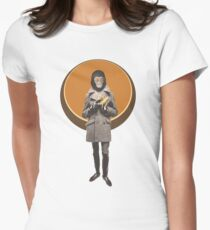 Planet Of The Apes Mod Style Women's Fitted T-Shirt