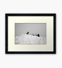 Carrauntoohil summit Framed Print