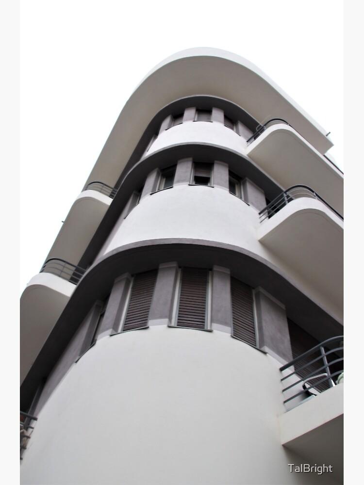 Tel Aviv Bauhaus style building  by TalBright