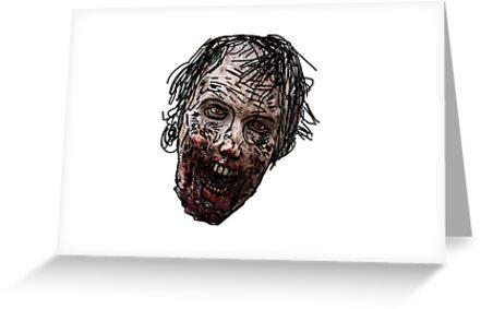 Zombie Head by Nelson Ribeiro