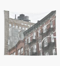 New York City, original fine photography, fire ladders, Manhattan Wall Tapestry