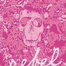 REBEL SKULL by Krista Droop