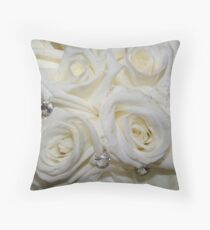 Brides Bouquet Throw Pillow