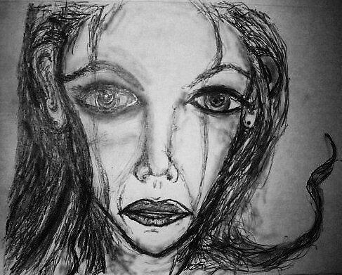 darkness sorrow felt eyes! by Cnote1394