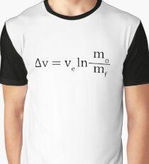 Tsiolkovsky rocket equation Graphic T-Shirt