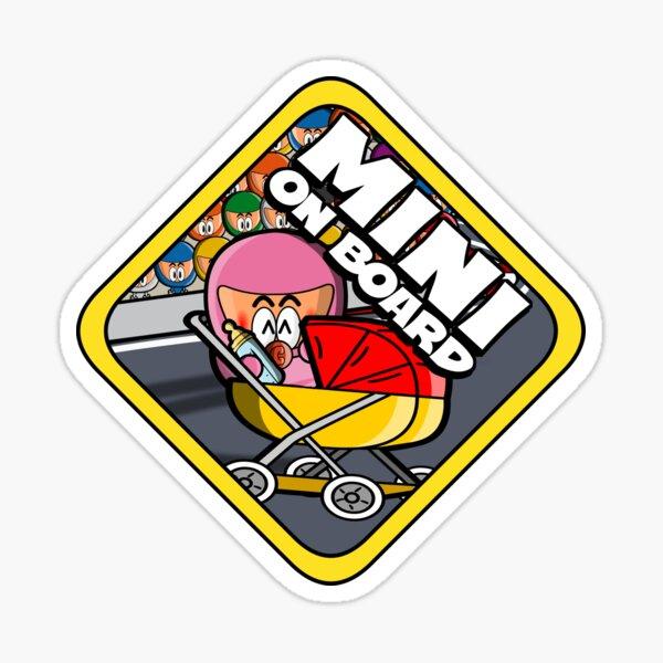 Minigirl an Bord Sticker