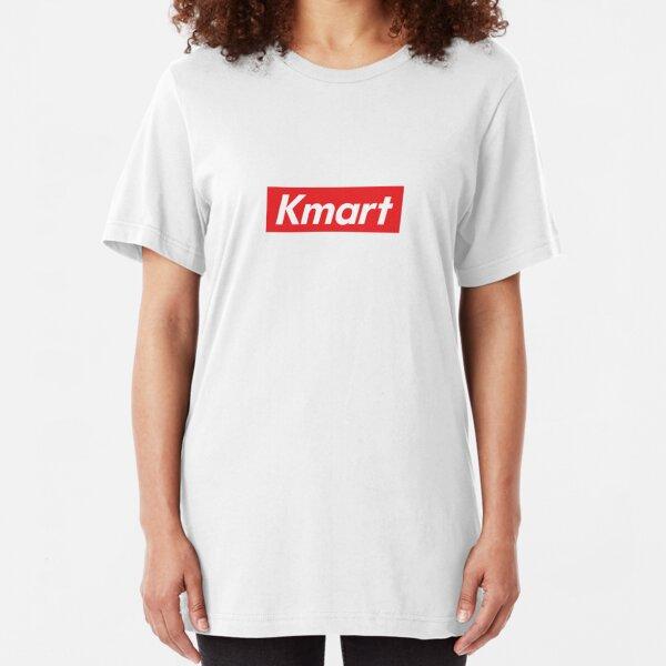 KMART SUPREME PARODY (RED BOX LOGO) Slim Fit T-Shirt