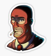 Red Spy! Sticker