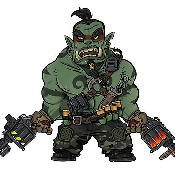 Foom the orc warlord by TacOpsGear