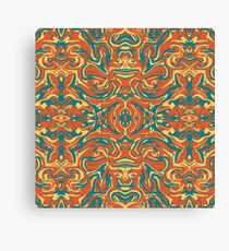 Multicolored Abstract Ornate Pattern Canvas Print