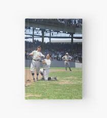 Al Schacht & Nick Altrock at MLB Opening game in Griffith Stadium in Washington D.C., 1924 Hardcover Journal