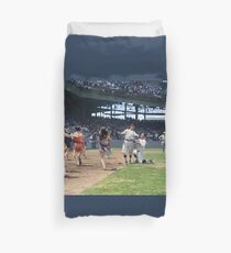 Al Schacht & Nick Altrock at MLB Opening game in Griffith Stadium in Washington D.C., 1924 Duvet Cover