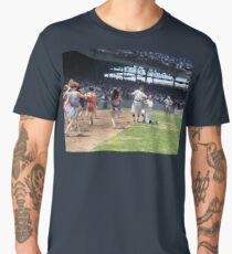 Al Schacht & Nick Altrock at MLB Opening game in Griffith Stadium in Washington D.C., 1924 Men's Premium T-Shirt