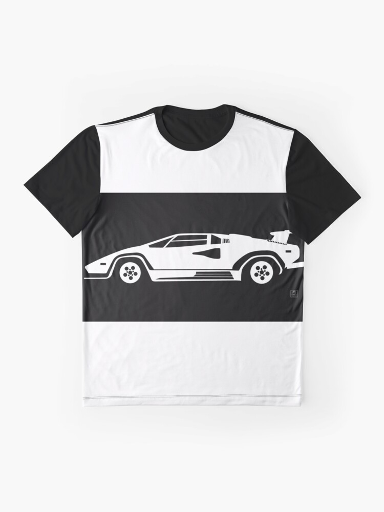 Countach T Shirt By Legarzon Redbubble