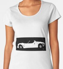 alfa romeo 33 stradale Women's Premium T-Shirt